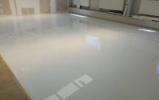 Műgyanta padló kivitelezés - referencia
