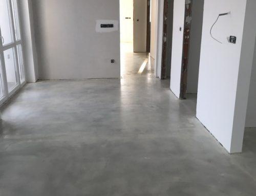 Műgyanta padló kivitelezés – referencia 13